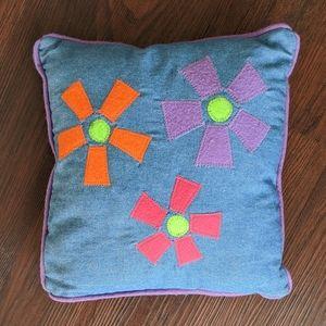 Handmade Denim Pillow